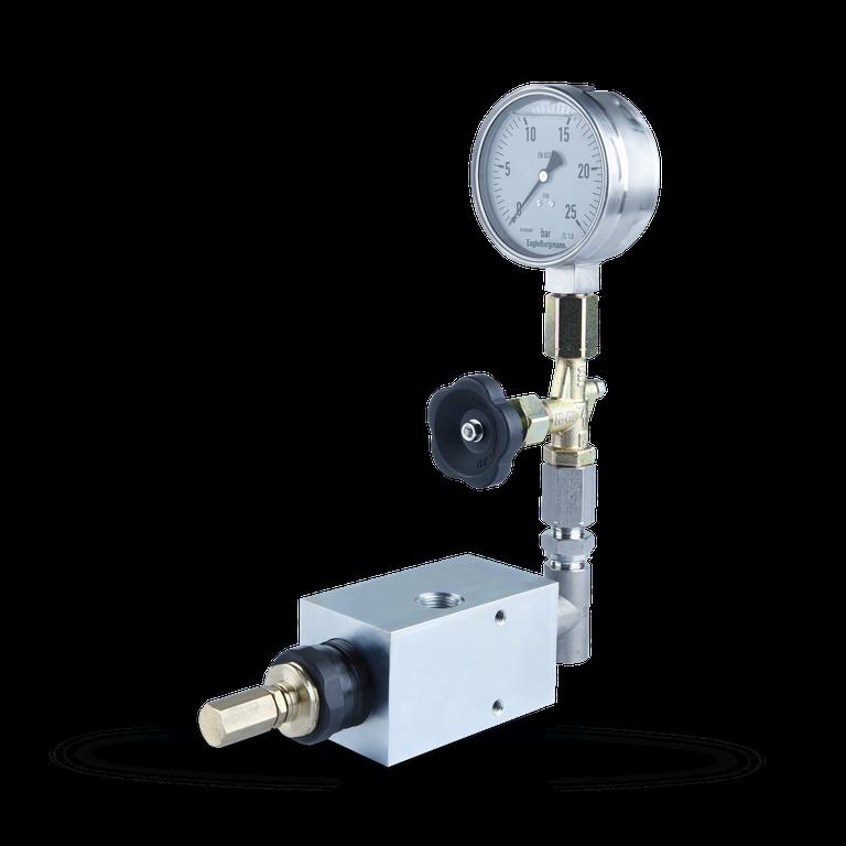 DRE Pressure control unit