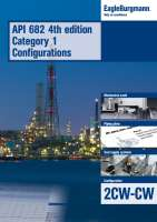 Brochure API 682 4th ed. Cat. 1 Configurations - 2CW-CW
