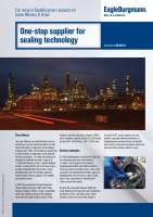 Solution: One-stop supplier for sealing technology